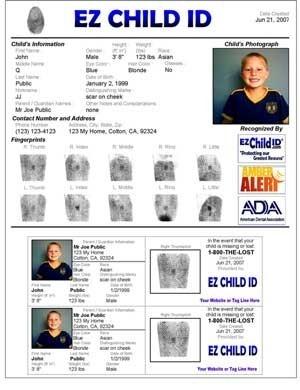 EZ Child ID