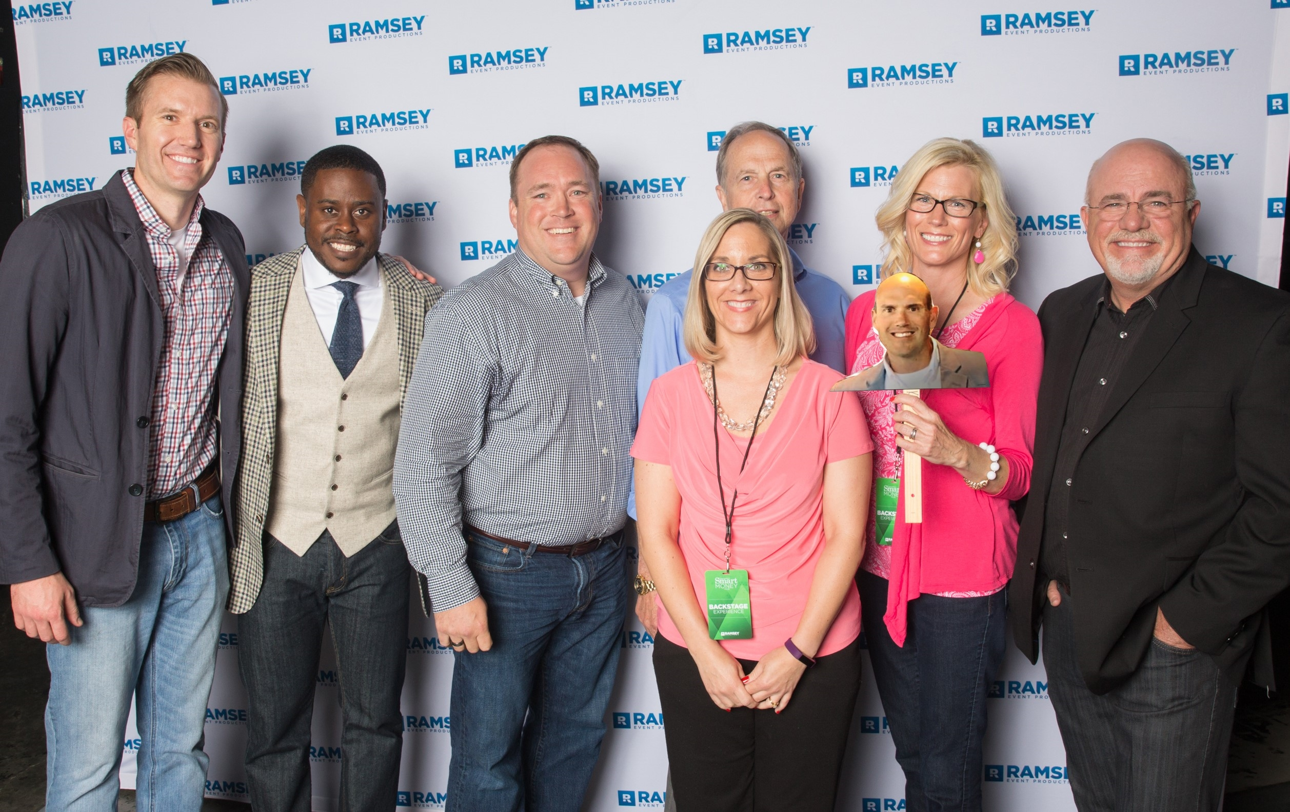 SmartVestor Pro Dennis Bohm with Anthony Oneal, the Steward Wealth Strategies team and Dave Ramsey
