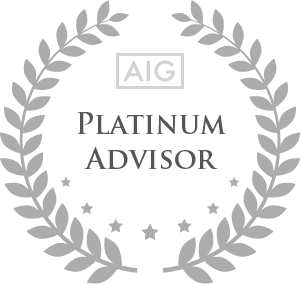 AIG Platinum Advisor Award Winner