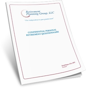 Confidential Retirement Planning Questionnaire
