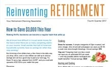 Reinventing Retirement - 2017 Q3