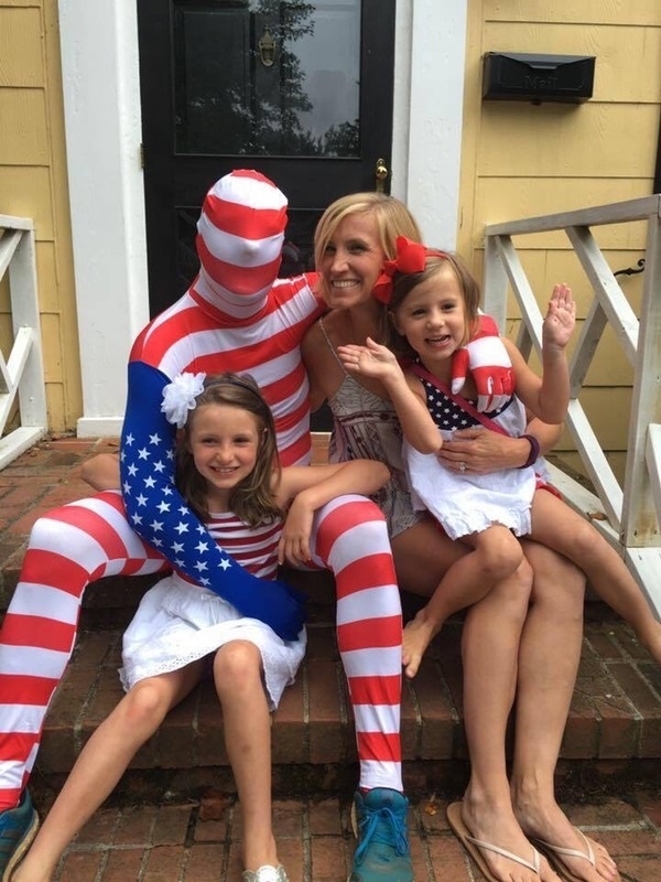 Matt and family celebrating Kirkstock in Greensboro