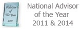National Advisor of the Year 2011 and 2014