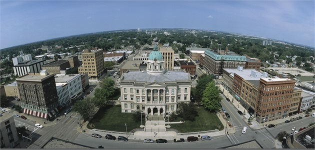 Downtown Bloomington