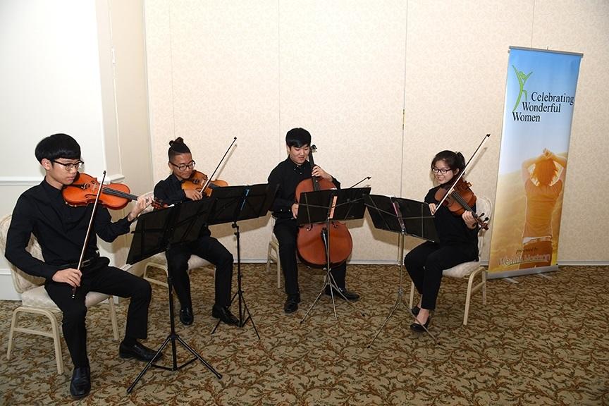 String quartet from Duluth High School