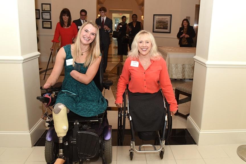 Aimee Copeland and Stephani Victor