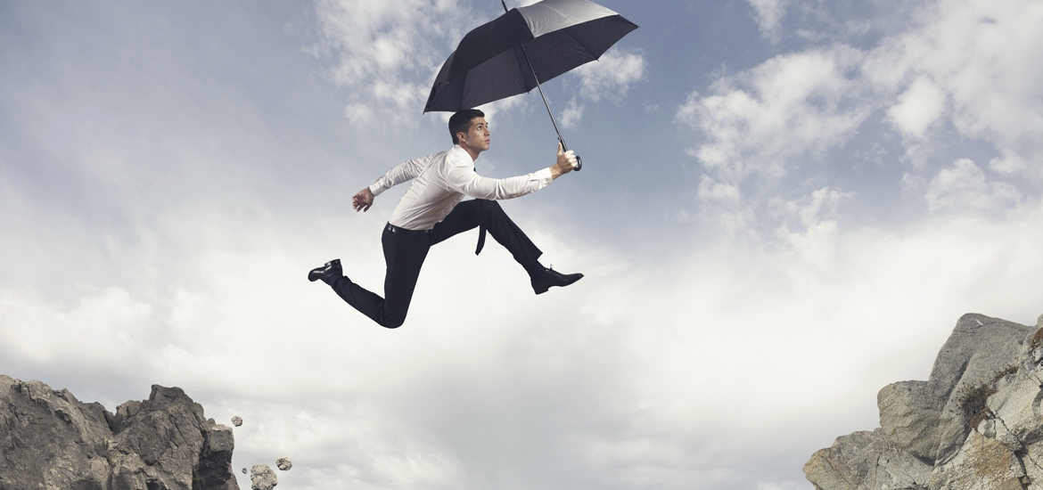 """""""Risk is good. Not properly managing your risk is a dangerous leap."""""""