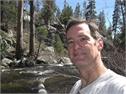 Tom along the Yosemite Creek