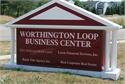 Worthington Loop Business Center Sign