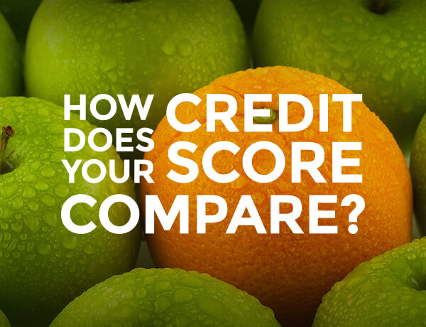 How Does Your Credit Score Compare?