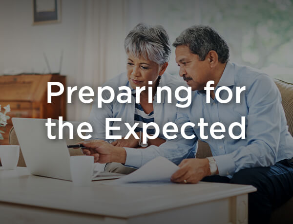 Planning for the Expected