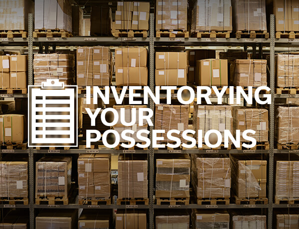 Inventorying Your Possessions