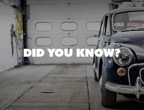 Did You Know This Fact About Parking in a Garage?